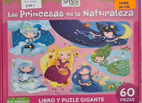 Libro-puzzle princesas