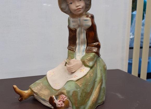Pastorcilla de porcelana valenciana