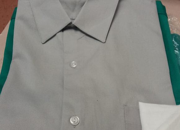 Camisa de trabajo gris