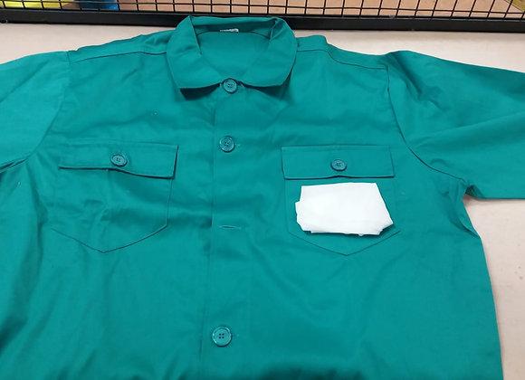 Camisa de trabajo verde