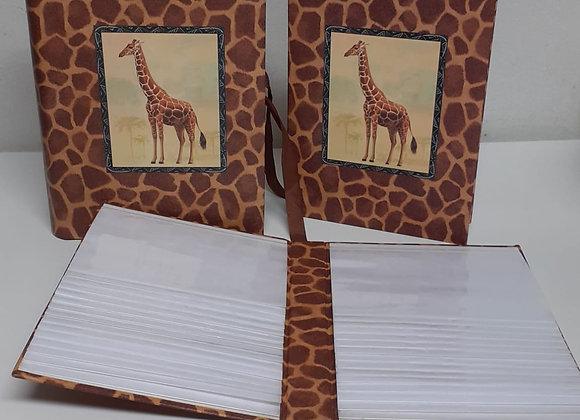 Álbum de fotos jirafa