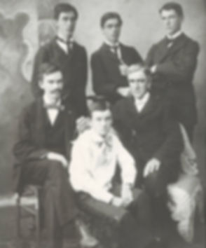 From left to right top John, Charles Ber