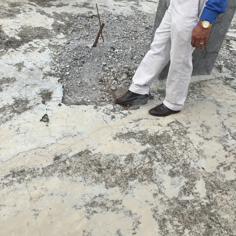Rooftop damage