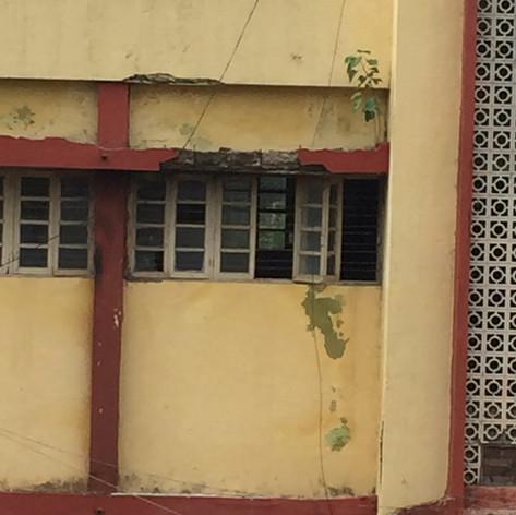 Erosion on buildings