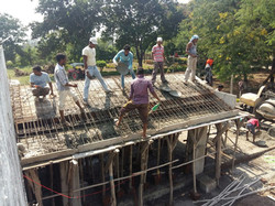 CONSTRUCTION ON HOME OF PEACE