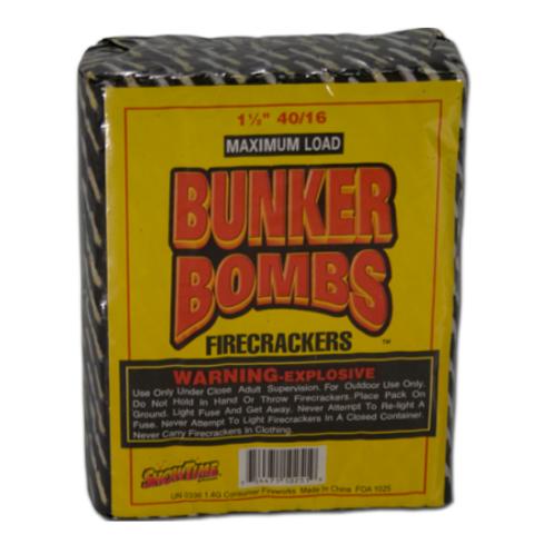 WOVEN BUNKER BOMB