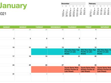 2021 Team Lintner Calendar is SET!