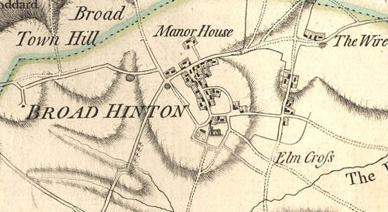 Broad Hinton map