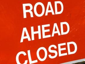 Urgent closure of A4361