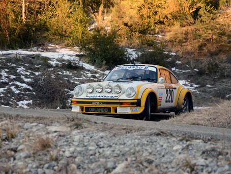 2019 Monte Carlo Historic Rally
