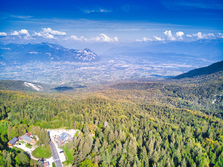 Chambery from the sky !