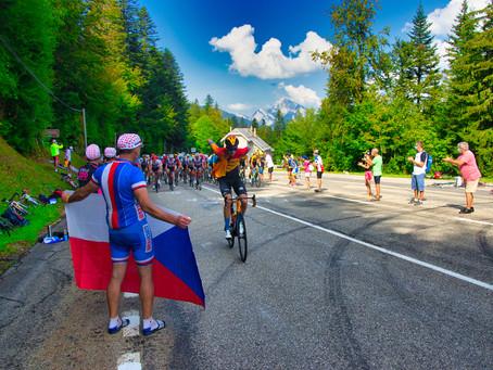 Tour de France 2020 au Col de Porte.