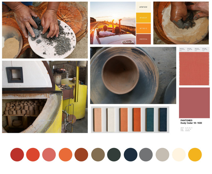Moodboard de color