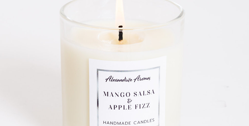 Mango Salsa and Apple Fizz - Small Vogue Candle