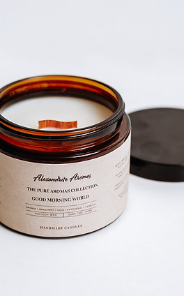 Good Morning World Apothecary Candle