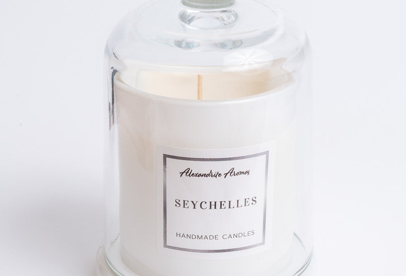 Seychelles Cloche Candle