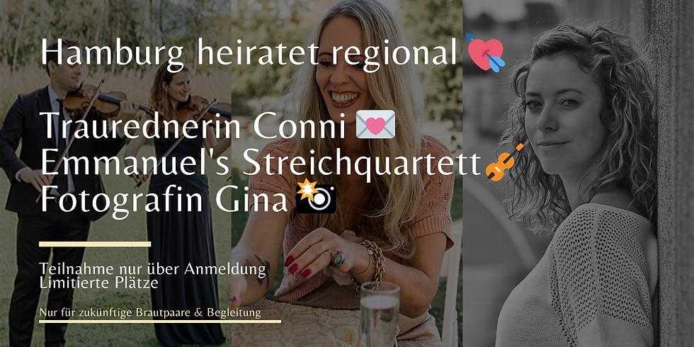 Traurednerin Conni 📝 Emmanuel's Streichquartett 🎻  Fotografin Gina 📸