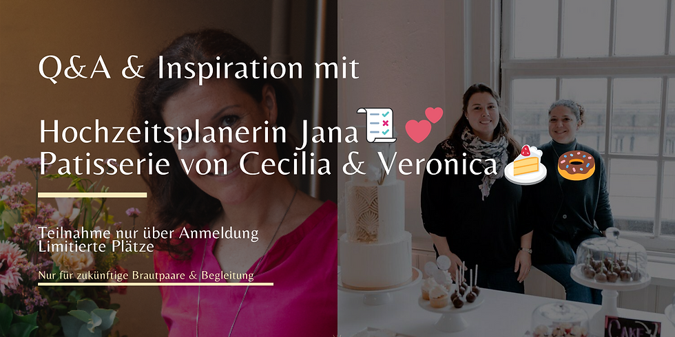 Q&A & Inspiration mit Hochzeitsplanerin Jana 💕