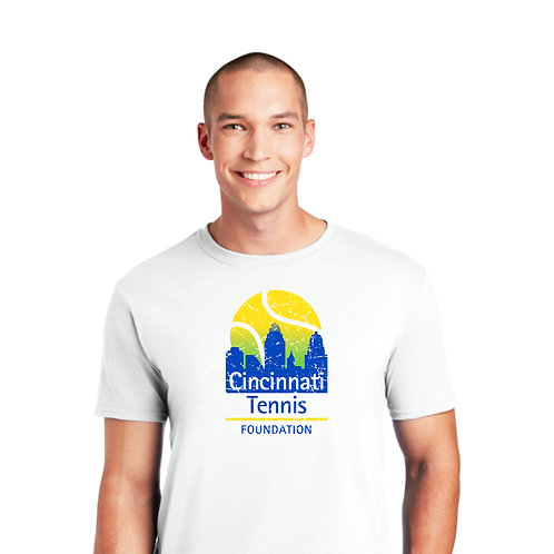 Cincinnati Tennis Foundation Tee - White
