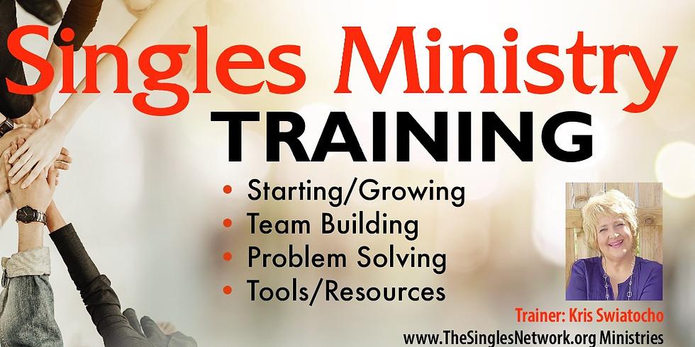 Singles Ministry Training Workshop with Kris Swiatocho