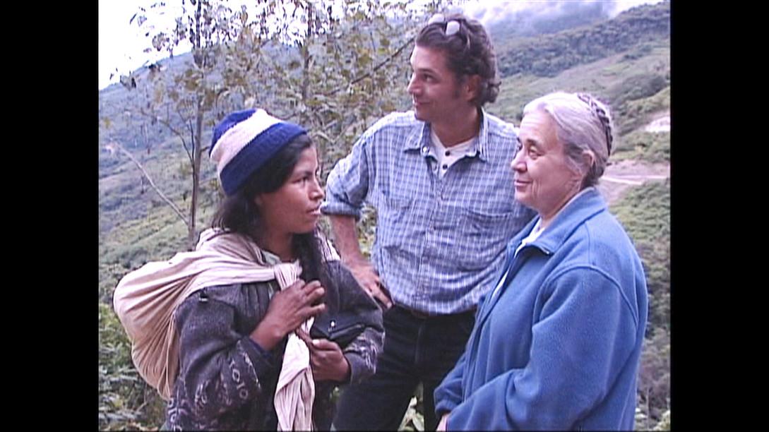 Grégoire Viau avec Suzanne Labelle en Bolivie