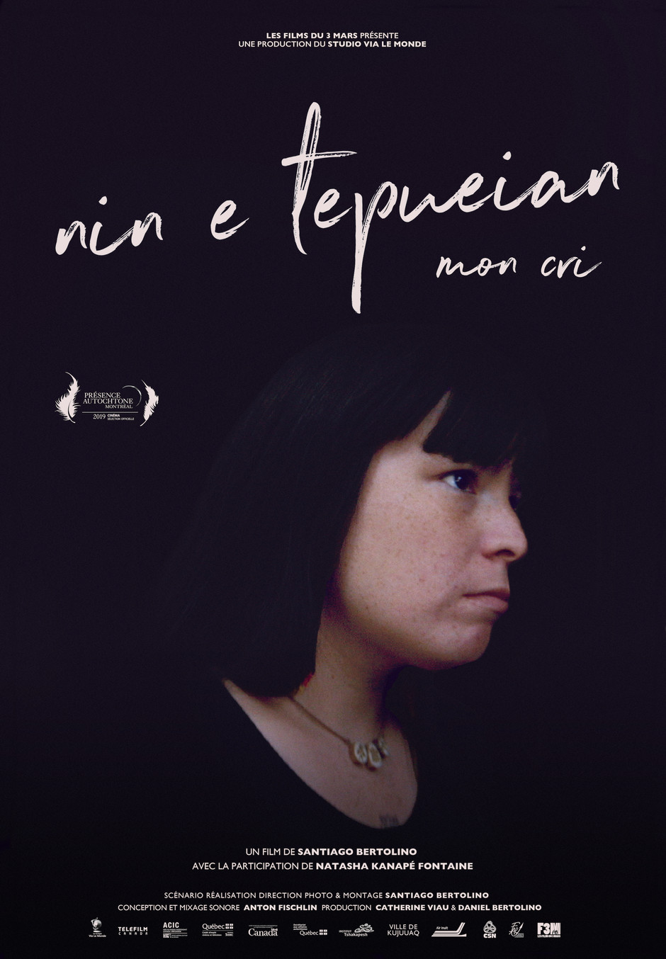 NIN E TEPUIEAN - MON CRI en salles dès le 24 janvier 2020
