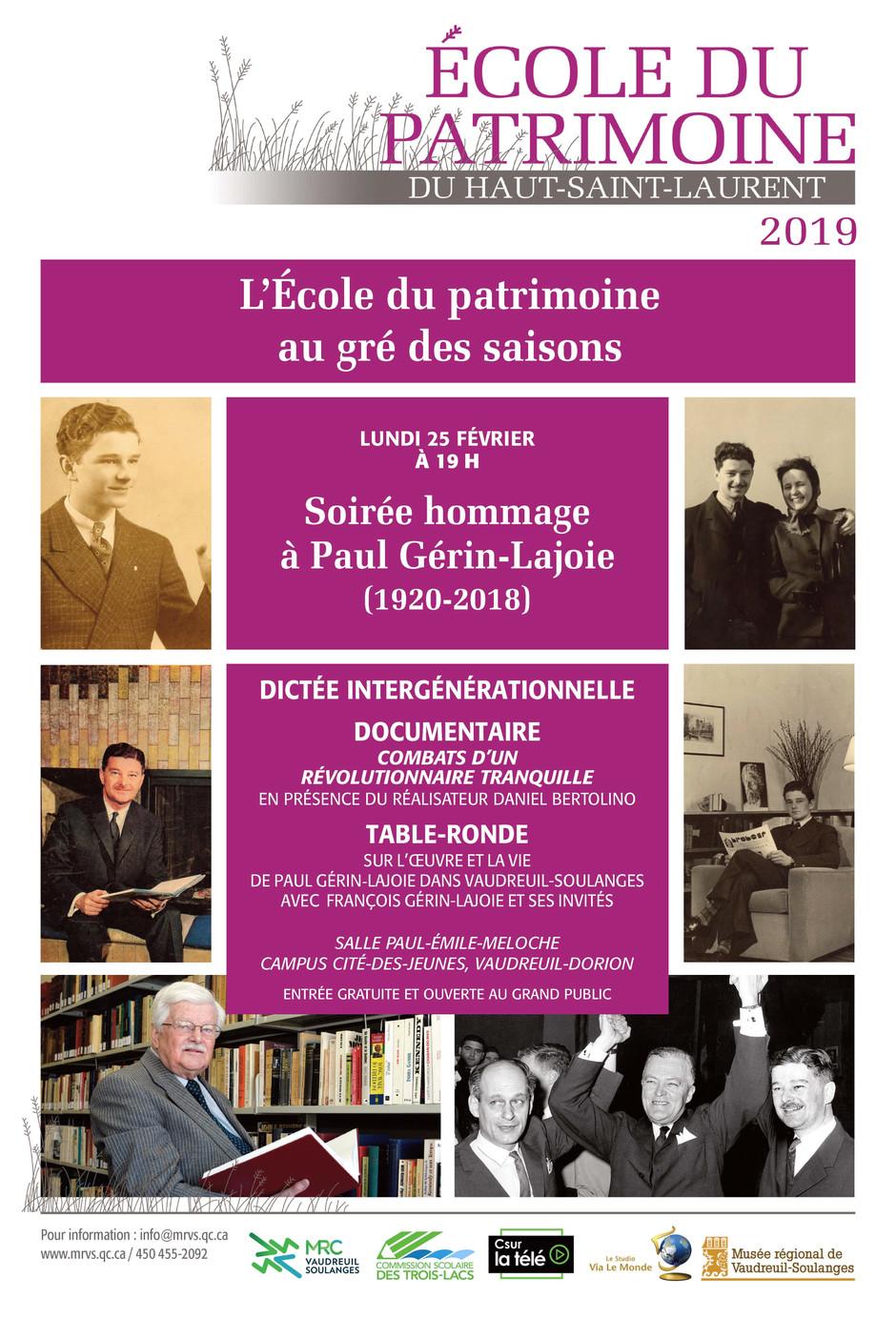 Un hommage à Paul Gérin-Lajoie