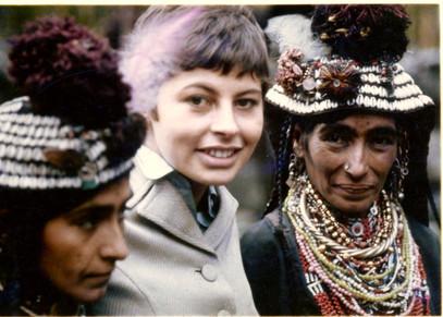 Nicole Duchêne chez les Kalash