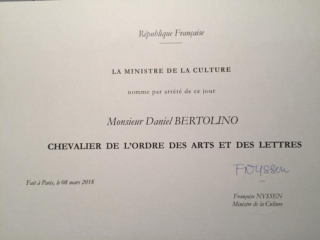 Ordre des Arts et lettres de la République française.JPG