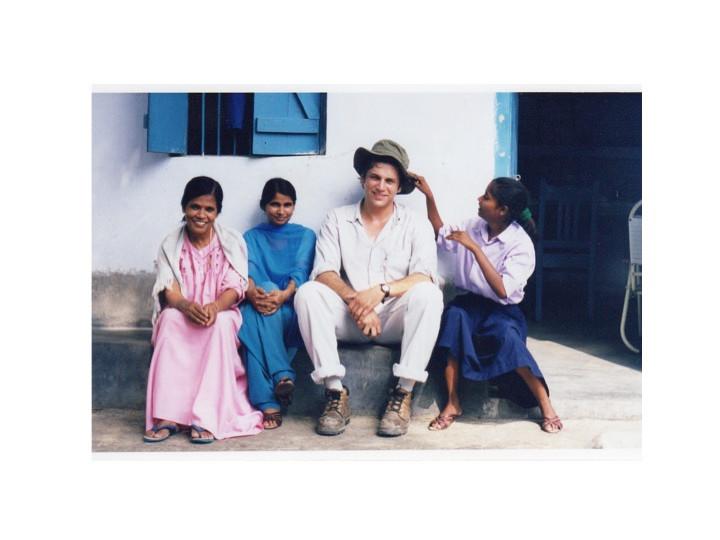 Grégoire Viau en Inde