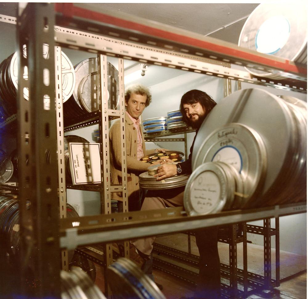 Les archives de Via le Monde, des centaines de bobines de film