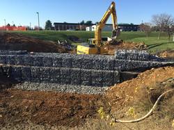 Forebay Construction