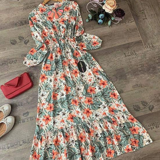 F- Floral Dress