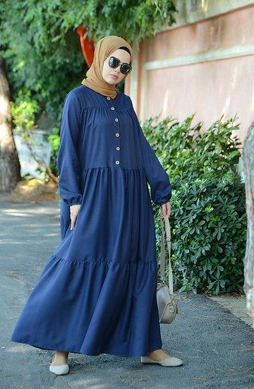 MINAHILL DRESS ,,,قالب واسع