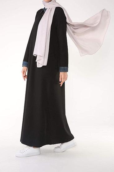Black Abayaقالب واسع