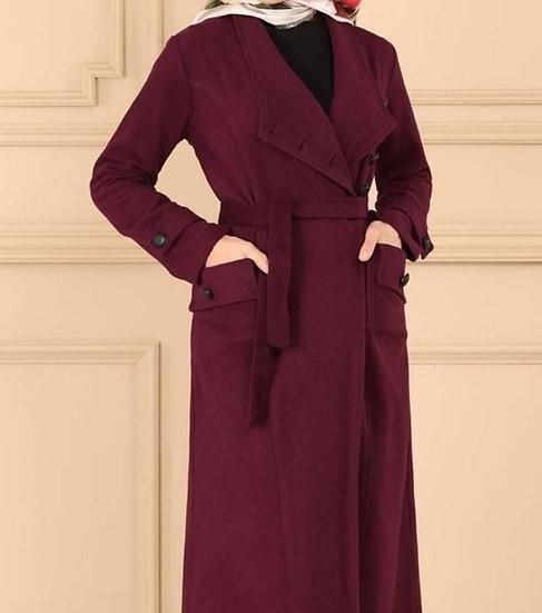 F-Maroon Coat