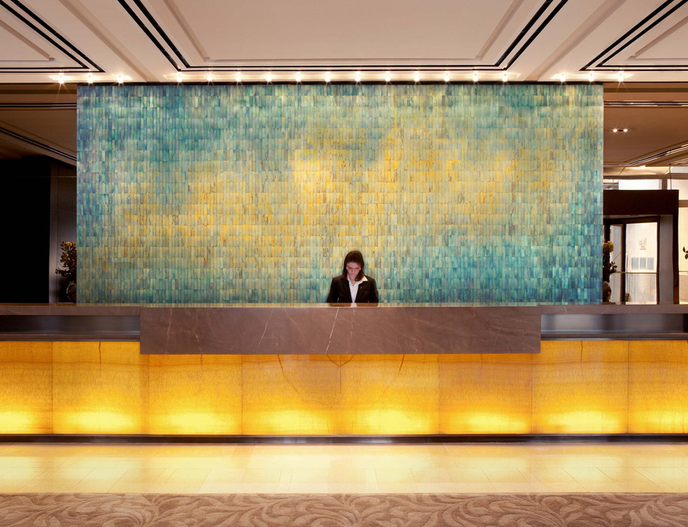 Hotel Lobby Artwork