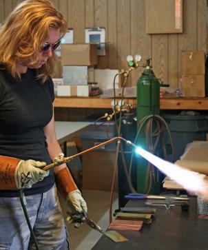 Anne in North Carolina Studio