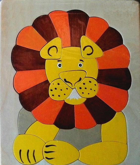 Flat puzzle - Lion