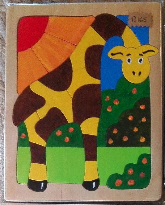 Flat puzzle - Giraffe