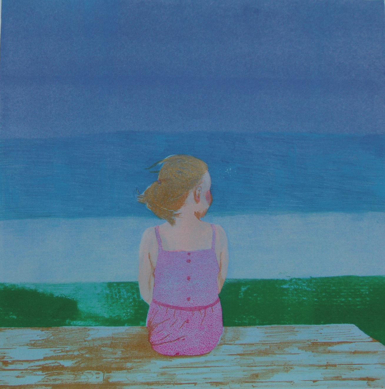 2008.少女の背中