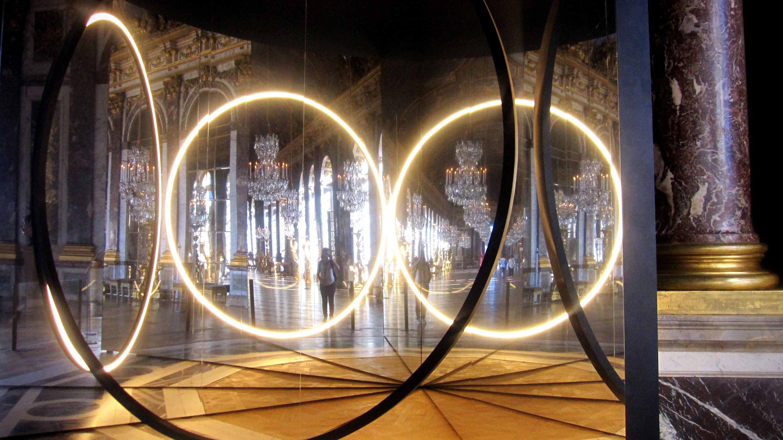 Your sense of unity, 2016 Installation de Olafur Eliasson , Versailles