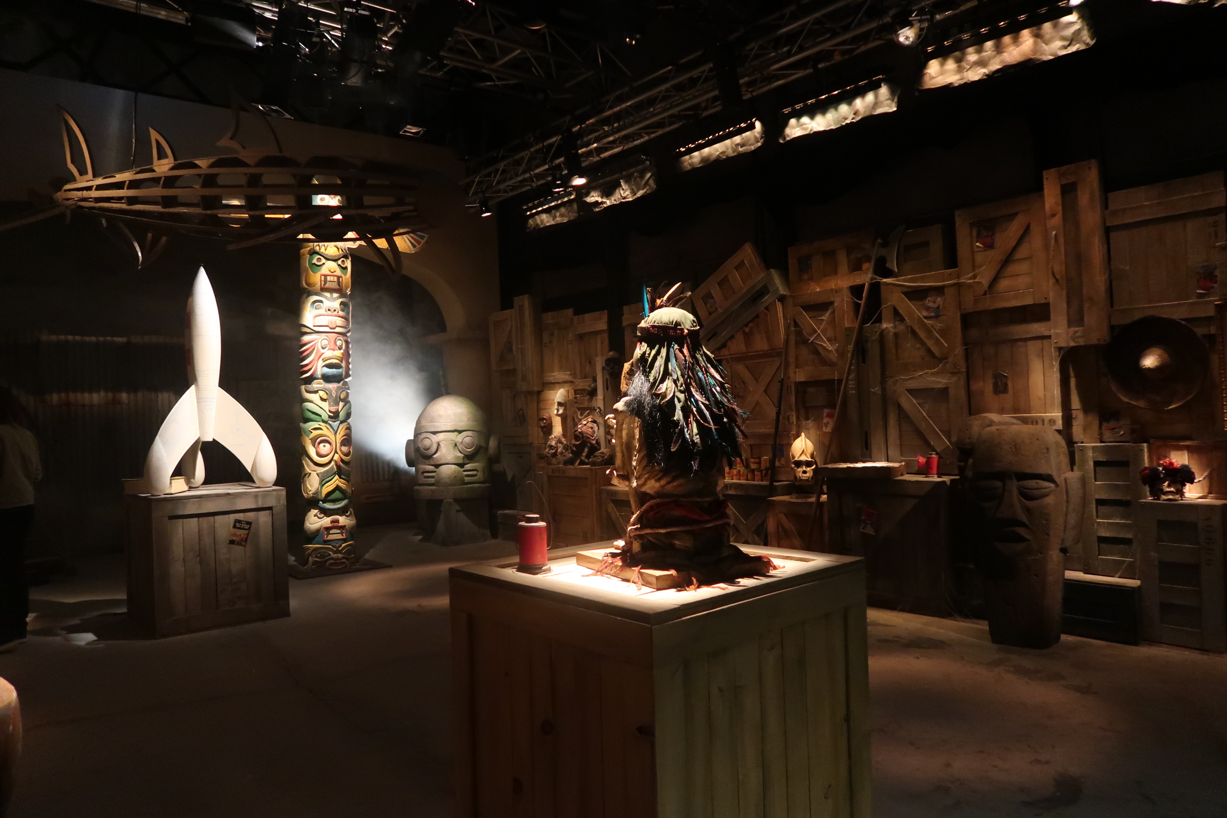 La Filière mystérieuse ou Les trésors de Tintin