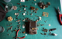 Work in progress Game Boy steampunk