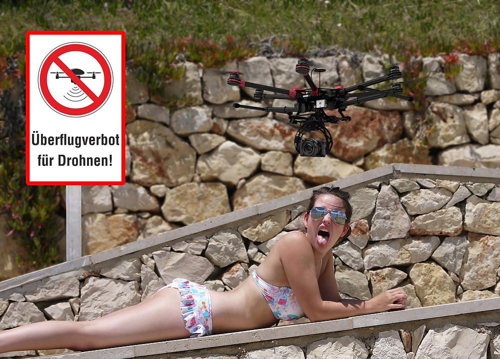 Luftbilder, Luftaufnahmen mit Drohnen