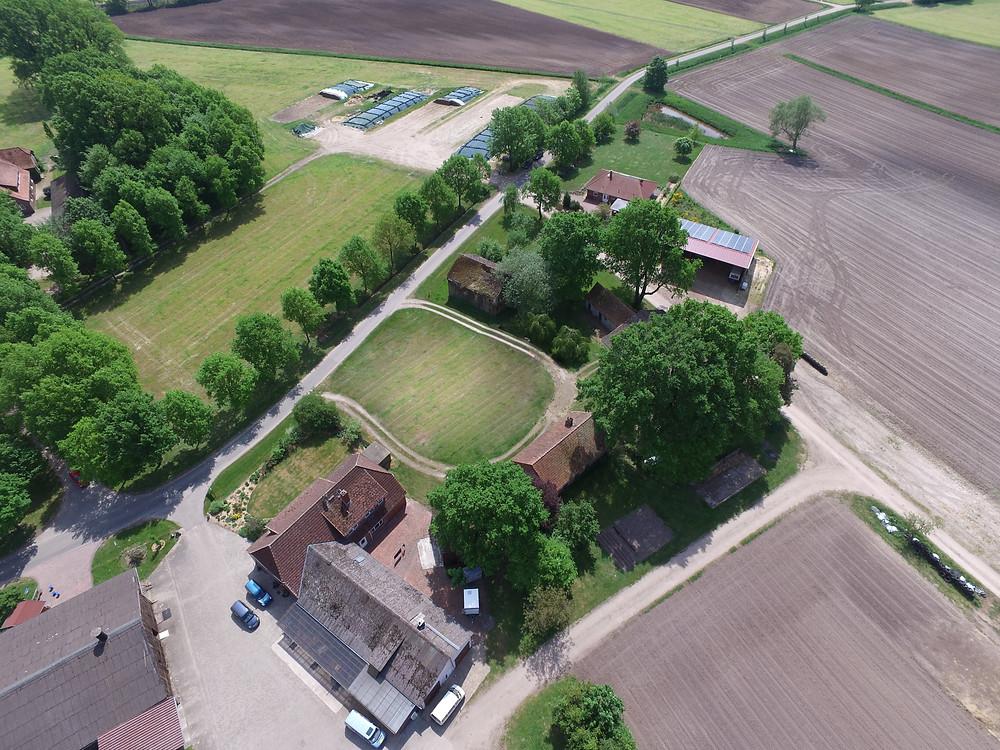 Luftbilder Luftaufnahmen Entfernen von Objekten