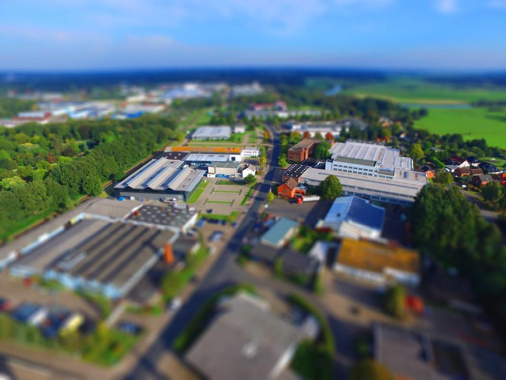 Luftbild Industriegebiet Verden