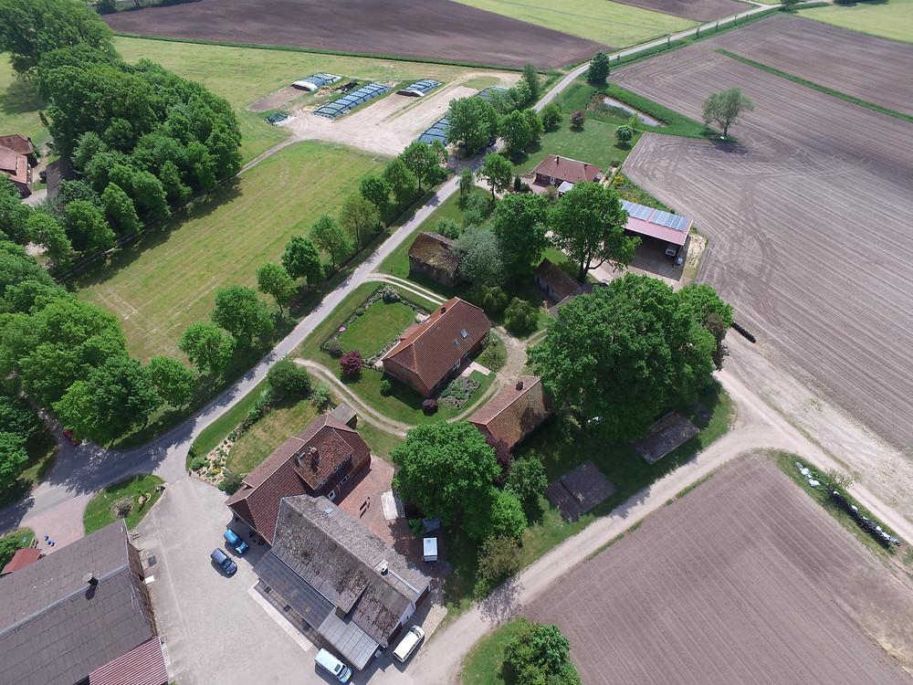 Luftbilder Luftaufnahmen Fotomontage