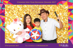 Chinese New Year Reunion Dinner 2017