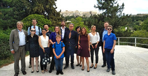 ILA Association Natural Resources Experts Drafting Guidelines in Athens 2019.